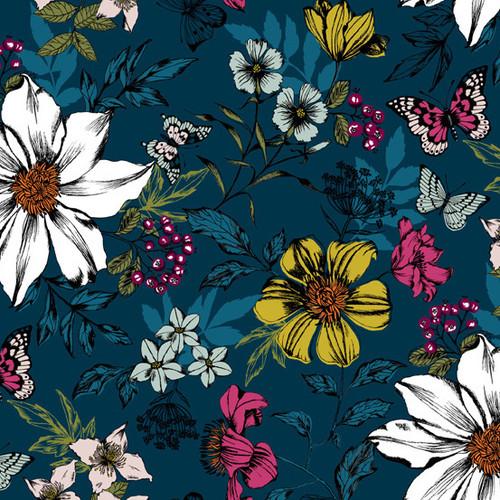 Botanica, Andover Fabrics, available from Purple Stitches, UK