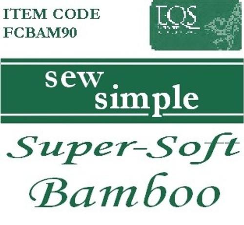 Sew Simple 100% Bamboo Super Soft wadding