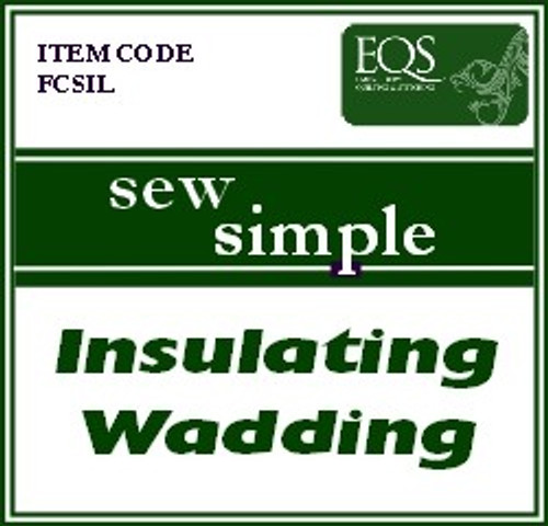 Sew Simple Insulating wadding Extra Wide