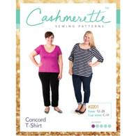 Concord T-shirt  -  Cashmerette Sewing Patterns
