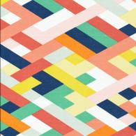 True Colors - Lets have a party - Avril Loretie - Cloud9 Fabrics - cotton voile