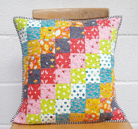 Learn to Quilt - make a quilted patchwork cushion - 7th August 2016