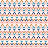 Geo Diamond in Pink - Millefleur - Dashwood Studio - Cathy Nordstrom