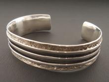 Authentic Sterling Silver Mens Bracelet