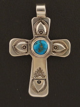 Genuine Turquoise Cross