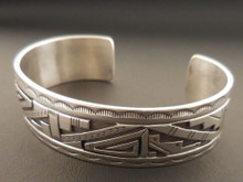 Authentic Navajo Handmade Men's Cuff Bracelet