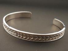 Authentic Navajo Handmade Men's Bracelet