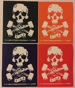 RIDE SKULL AND TRUCKS STICKER