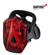 INFINI LAVA SUPER BRIGHT REAR MICRO USB RECHARGEABLE LIGHT WITH QR BRACKET