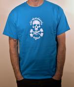 Special Edition Ride Shop Skateboard SAPPHIRE T Shirt Skull & Trucks