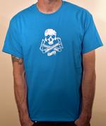 Special Edition Ride Shop BMX SAPPHIRE T Shirt Skull & Cranks