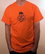 Special Edition Ride Shop BMX ORANGE T Shirt Skull & Cranks