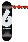 BIRDHOUSE B LOGO TEAM DECK 8.25""