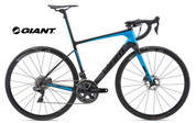 2018 GIANT DEFY ADVANCED SL0 (CARBON SMOKE/BLUE/LAZER FILM