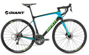 2018 GIANT DEFY ADVANCED 3 (CARBON SMOKE/BLUE/NEON GREEN/BLACK)