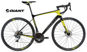 2018 GIANT DEFY ADVANCED 1 (CARBON SMOKE/YELLOW/CHARCOAL)