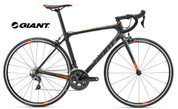 2018 GIANT ADVANCED 1 (CARBON SMOKE/NEON ORANGE/CHARCOAL)