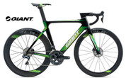 2018 GIANT PROPEL ADVANCED PRO DISC (CARBON SMOKE/GREEN/WHITE)