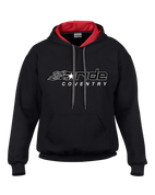 Ride Coventry Flaming Logo Premium Hoodie