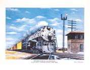 Northern Pacific 4-8-4 Print - Russ Porter