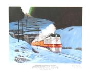 Eastbound Hiawatha Print - Russ Porter