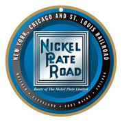Nickel Plate Road Wooden Plaque