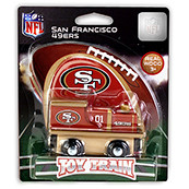 NFL San Francisco 49ers Wooden Train Engine
