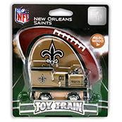NFL New Orleans Saints Wooden Train Engine