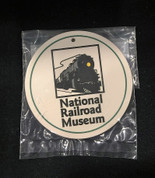 National Railroad Museum Stone Ornament- Green