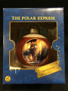 The Polar Express Glass Ornament