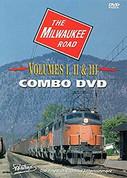 The Milwaukee Road Volumes I, II & III Combo DVD