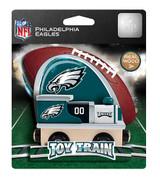 NFL Philadelphia Eagles Wooden Train