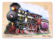 Melissa & Doug Train Sound Wooden Puzzle