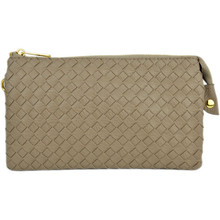 Perfect Core Clutch Khaki