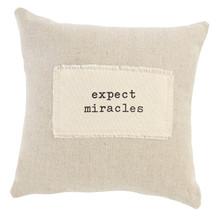 Miracles Positive Pillow