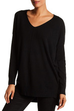 Dreamers V Neck Sweater Black
