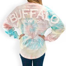 Buffalo Pastel Tie Dye