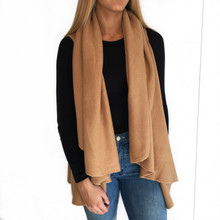 Look Sweater Wrap Camel