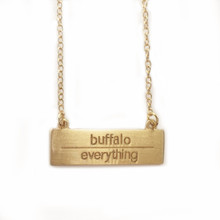 Buffalo Over Everything Necklace