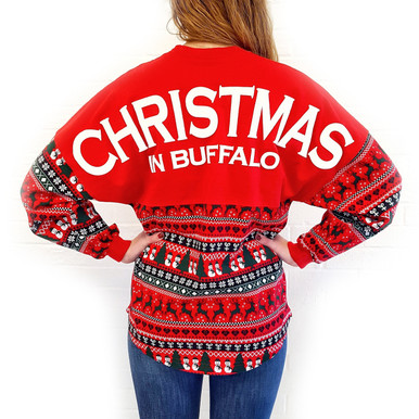 Buffalo Spirit Christmas Jersey
