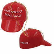 Donald Trump Hat Ornament