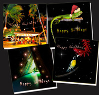 Happy Holidays cards- Pack of eight