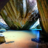 The Baths National Park Metal Print