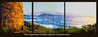 Coppermine triptych pt canvas