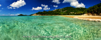Little Bay, Tortola. Panorama, traditional