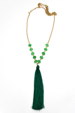 Gracia Tassel Necklace