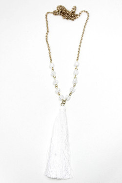 Wendy tassel necklace