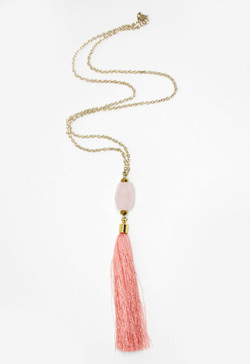 Becky Tassel Necklace