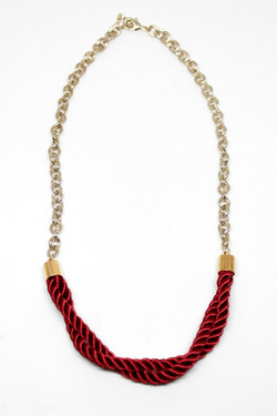 Layla twist necklace