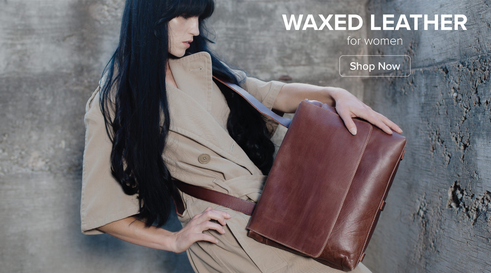 Waxed Leather Bags for Women